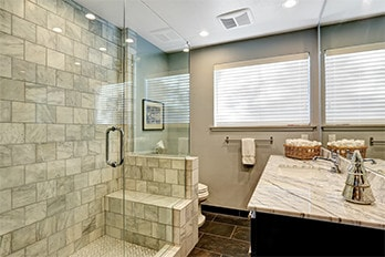 Spacious Bathrooms by Arundel Home Improvement